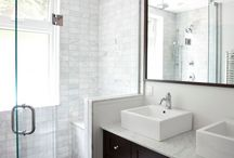 Bathroom ideas / by Cara Rathwell