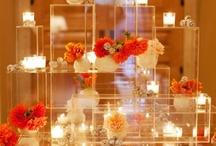 Place Card Table Displays / by Fleurs De France