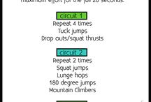 Workouts / by Abigail Gar-Maga
