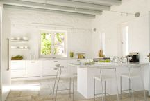 Dream Kitchens / Beautiful, full of detail, and would love to have one like this one day kind of kitchen... / by Crafty Brains