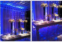 Blue Wedding Lighting / by Nigerian Wedding