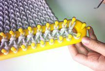 ZAA Loom knitting , hairpin crochet / tech / by interszansa