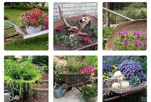 Garden Inspirations / I use gardening as my psychologist. I feel so much more relaxed when I have spent even the smallest amount of time working in the garden and it does not cost nearly as much - most of the time...lol / by Kim Germain