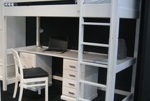 Ruimtebesparende bedden / Weinig woonruimte ? Er zijn talrijke oplossingen voor het optimaal benutten van de ruimte. Stapelbedden, kantelbedden, onderschuifbedden, opklapbedden, sofabedden,... / by Slaapkenner Theo Bot