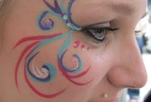 future face paint booth / by Chic N Prim Cottage