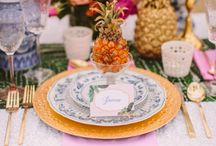 { table settings } / by Kirsten Kizerian/ West End Girl