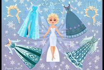 Disney paper dolls / by Kekas Magazine