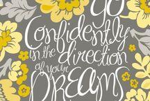 Positive Words / by Holly Ledingham