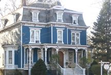Second French Empire, Gothic Revival, Italianate, Queen Anne. / by Jaime Failing