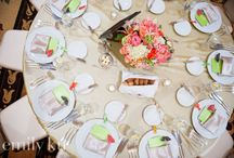 vegas wedding | tablescapes / Tablescape design inspiration from real Vegas weddings / by Little Vegas Wedding