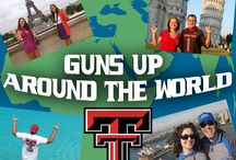 Guns Up Around the World / Join our Instagram contest and submit photos showing your Red Raider pride all around the world!   Join the contest by Instagraming your photos, tagging @texastechathletics & using the hashtag #gunsuparoundtheworld. / by Texas Tech Athletics