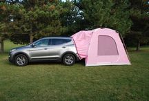 think pink contest! / Enter on our Facebook to win a limited edition think pink SUV tent! One lucky winner will be drawn on October 31! / by Napier Outdoors