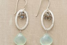 Jewelry to try / Earring Designs that are inspirational for either design or color / by Kristi