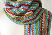 Crochet: Scarves II / Whimsical Scarves, animal scarves, scarves for children, winter scarves. / by Polly Wickstrom