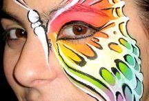 Face paint  / by Leonie Sheffield