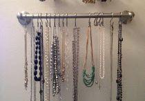 Closet organization  / by Kristen Cooper
