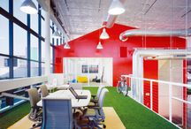 Office Spaces / by Maria Elena; Holguin Interiors, LLC