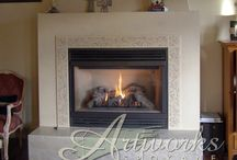 Fireplaces / by Nancy Jones