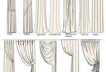curtains / by Trish Brokaw