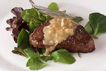 Beef steak, roasts, chops / Beef recipes other than ground beef. / by Mary Franklin