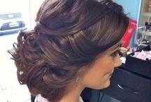 Bridal look / Dresses, hair style, and makeup / by Catherine Slack