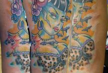 Tattoos and Tattoo ideas / I work in Tattoos and Tattoo Accessories.   / by Tina Carter