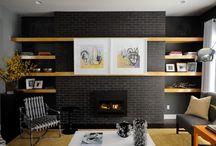 Fireplace / by Josie Haley
