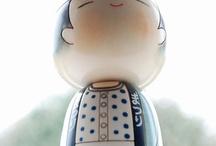 Kokeshi / by Jenn Chu
