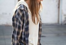 New style for college / Getting together piece by piece so I have this skater/rebel look down. I love the jean, black and plaid. Love this style ❤️ / by Cassandra Kubinak