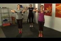 Grammy's strength training/ weight training exercises / by Eileen Lanier