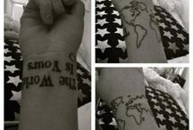 Tattoos / by Sarah Micael