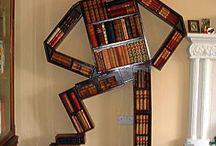BookNooks, Bookshelves n Libraries / #Book Nooks, #Libraries, #Book Mobiles, #Storage, #Bookshelves / by Karen Chapman