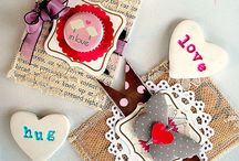 Embellish - Layered xoxo / Ways to layer scrapbooking products and embellishments / by Julie Ann Shahin