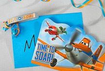 Planes Party Ideas / Dusty and the whole air crew are ready to bring your birthday boy's party to new heights! With invites, décor, fun games and great food, these party ideas will get all the little pilots revved up for a day of fun! / by Party City