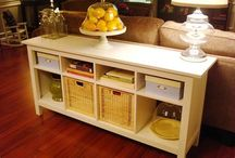 sofa table / by Susan Moore