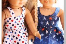 American Girl free patterns / by Sherri Hagar