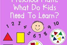 Preschool math / by Sarah Emery