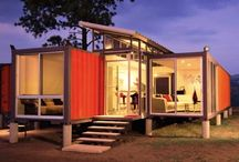 Container Houses (so cool) / by Jennifer Clinkenbeard
