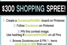 ZoostoresPin2Win / by Jennifer Speed