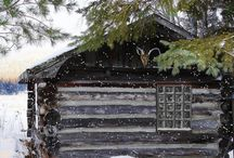 LOG and lovely / log cabin cuteness! / by Nestle`