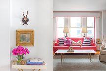 Living room / den / by Laura Messner