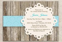 Invitations / by Katrina Franklin