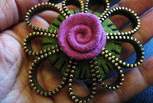 Metal Madness: Zipper Crafts / by Meri Suvi-Tuulia
