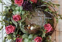 Silk Arrangements/Wreaths / by Angie Lizaso