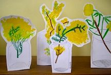 Flower Arts & Crafts / by The Crafty Crow