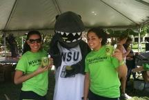 Razor the Shark - NSU's Mascot / by Nova Southeastern University