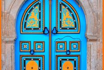 """Doors and Entryways / """"A small key opens big doors"""" Turkish Proverb / """"The doors we open and close each day decide the lives we live"""" Flora Whittemore / by Debbie Battaglia"""