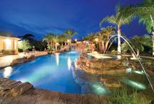 Pool Designs for Every Backyard / A selection of pool designs that show a few of the many shapes and styles that are popular choices with homeowners. We asked experienced pool builders to comment on what makes each pool design special and how it is used to create an amazing poolscape.  http://www.poolspaoutdoor.com/pools/inground-pools/articles/pool-designs.aspx / by PoolSpaOutdoor.com
