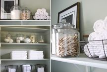 Ideas for the Laundry Room / by Jessica Powell