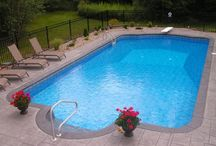 Our new pool / by Krissi Lindy